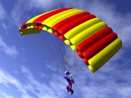skydiving rig
